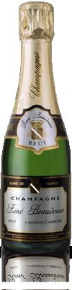 Demi-bouteille Champagne René Beaudouin