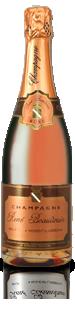 Pink champagne René Beaudouin