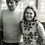 Vendange 1976: René et Doris Beaudouin